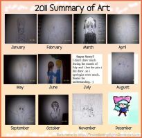 2011 Art Summary by lovelight27