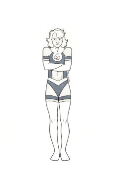 Dumb Comic Book Ideas: Invisible Woman by RenMalone