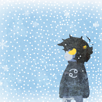 I hate snow by Painted-Terror