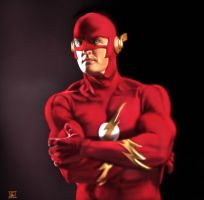 Flash - John Wesley Shipp by TheSig86