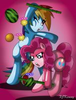 Fruits Attack by XJKenny