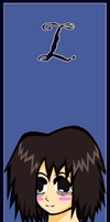 L bookmark by carriemiddleton
