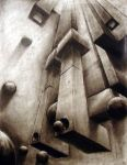 Abstract Two-Point Perspective by TBrennan
