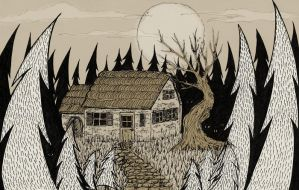 House In The Woods by NoctiLuna