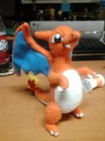 Charizard Plush by Vulpes-Canis