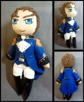 Treise Plushie--Gundam Wing by Threnodi