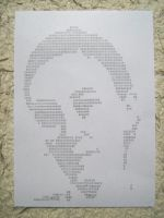 20120126 typewriter drawings portrait by reszko