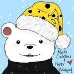 Holiday Bear by Sillaque