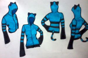 Neko Jacket Design 2.0!!!! by rpm1337