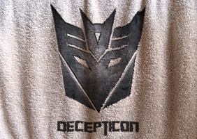 Decepticon Logo Cloth by PlaviDemon