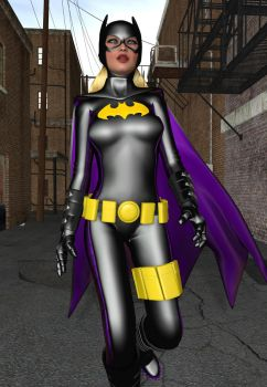NS90 - Batgirl Stephanie Brown 2 by MndlessEntertainment