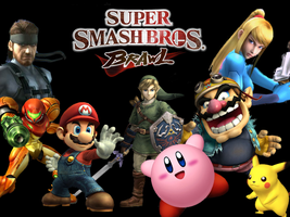 Super Smash Brothers Brawl by InfernoLeo