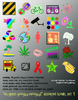 assorted vo1 128x128 25icons by gr8koogly