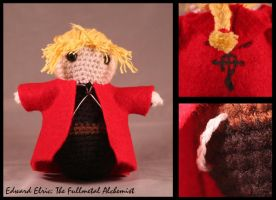 Edward Elric Amigurumi by fleetingdawn
