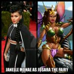 Janelle Monae as Josara The Fairy by StalinDC