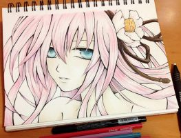Megurine Luka - Vocaloid by Fangirl342