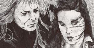 Sarah and The Goblin King by GoldenGirls