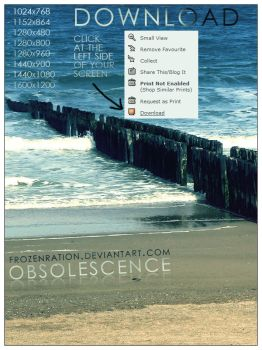 Obsolescence Wallpaper Pack by frozenration