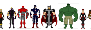 AVENGERS ASSEMBLE!!!! by SplendorEnt