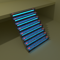 Scifi Stairs by Raziel-The-Corpse