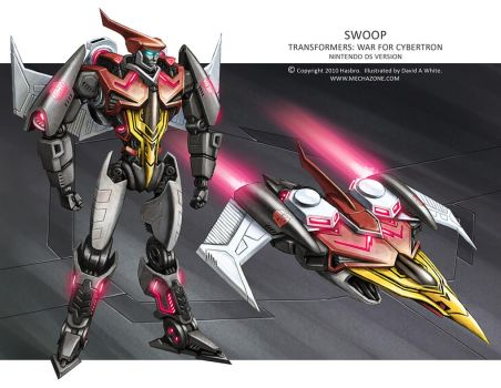 Transformers WfC: Swoop by Mecha-Zone