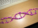 My handcrafted DNA-Model by 1Missy