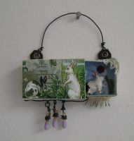 Tiny assemblage: Bunny by bugatha1