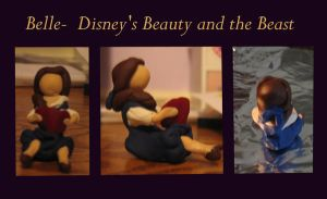 Belle reading- clay by ProtectorKorii