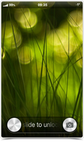 Grass Bokeh - MIUI LS Theme by ex-slym