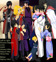 Hiko Family by HieiSQueen