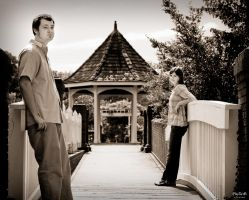 P and S Engagement 01 by juhitsome