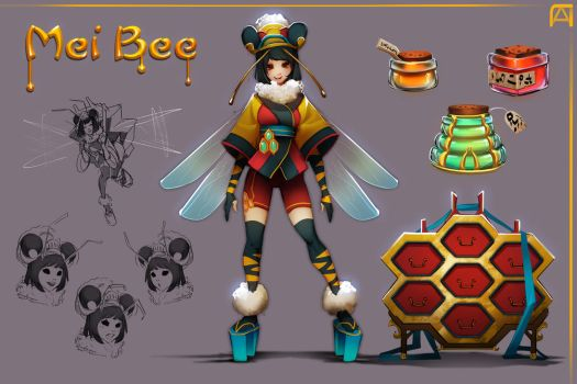 Mei Bee by Pechan