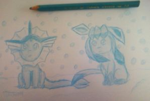 Love the eevee's whats your color contest entry by pokefan444