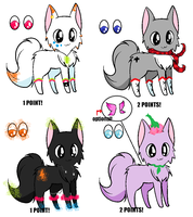 CHEAP ADOPTS!!! by snoopyluver5