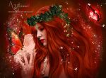 red butterfly by annemaria48