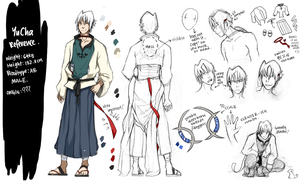 YuCha Refsheet. by night-fell