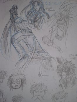blazblue doodlesss 1 by Natsumi-Chian