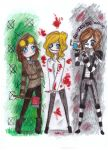 me and my friends as creepypasta by NENEBUBBLEELOVER