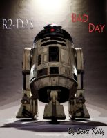 R2-D2's Bad Day - Cover Page by FencerScokeFaofa