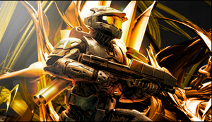 Master Chief Signature by SPrankster
