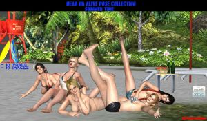 Dead or Alive Pose Collection - Summer Time by Rehabhardcore