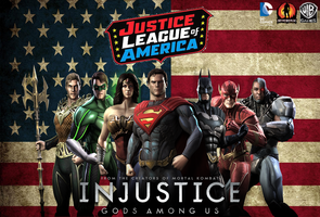 Injustice: Justice League Wallpaper by NerdyOwl299