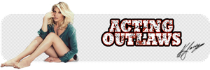 Acting Outlaws Katee Sig by PZNS