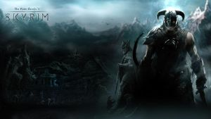 TESV Skyrim wallpaper 3 by Revan1337