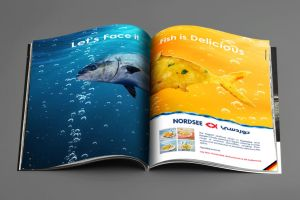 Nordsee Double page spread ad by myounis