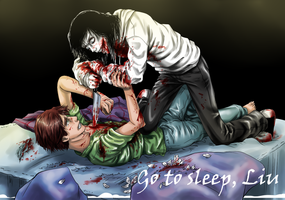 Fan Jeff the killer Liu1 by Ashiva-K-I