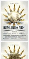 Royal Tunes Flyer Template by saltshaker911
