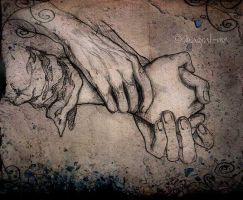 Godfather's Hands by Magrat-me