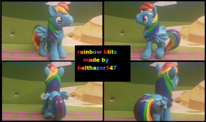 rainbow blits blind bag by balthazar147