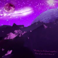 Mountains of Another World by Kimariwarui